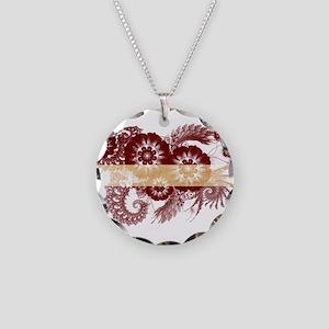 Latvia Flag Necklace Circle Charm