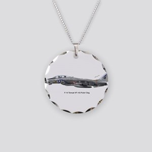 vf143print Necklace Circle Charm
