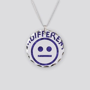 Indifferent Necklace Circle Charm