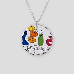 play bacteria w Necklace Circle Charm