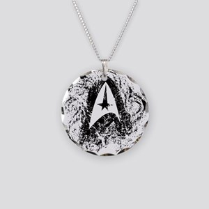 Star Trek Insignia Art Necklace Circle Charm