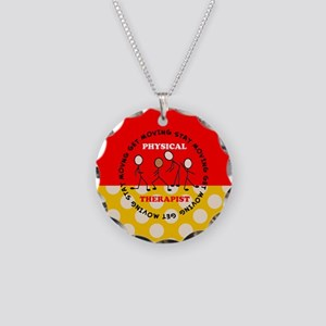 Physical Therapist pillow 1 Necklace