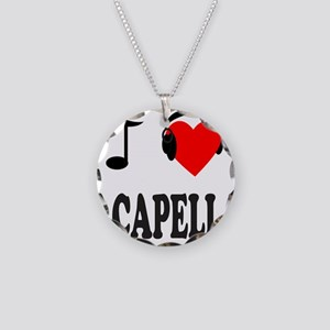 ACAPPELLA Necklace Circle Charm