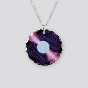 Pulsar - Necklace Circle Charm