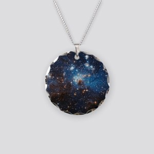 LH95 Stellar Nursery Necklace Circle Charm
