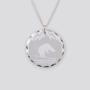 Holiday Valley - Ellicottv Necklace Circle Charm