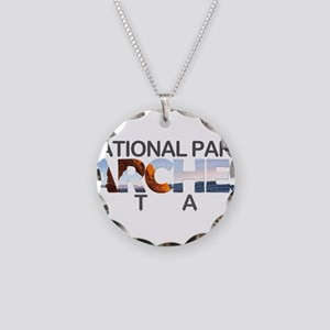 Arches - Utah Necklace Circle Charm