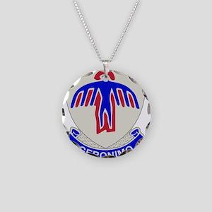 501-Parachute-Infantry-Regim Necklace Circle Charm