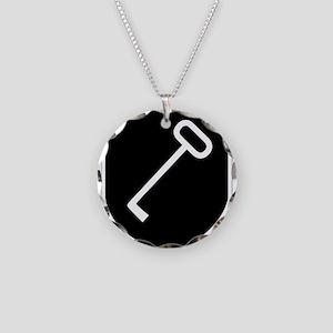 Panzerpionierbataillon 150 Necklace Circle Charm
