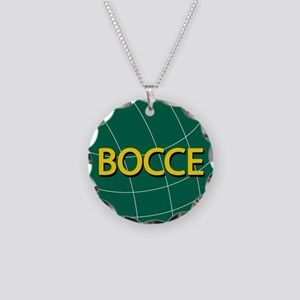 00-bocce01green-ornR Necklace Circle Charm