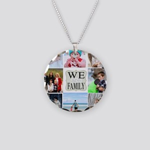 Custom Family Photo Collage Necklace
