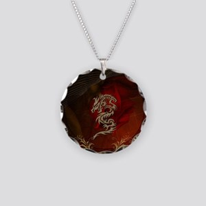 Awesome dragon, tribal design Necklace