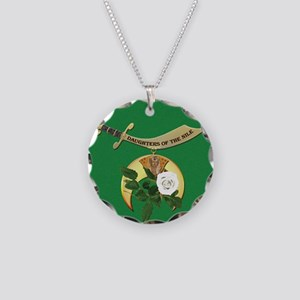 Daughters of the Nile Necklace Circle Charm