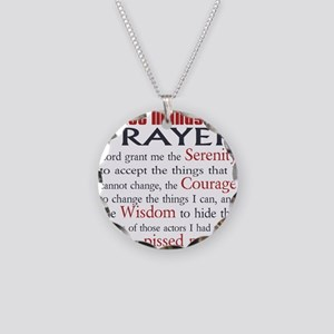 Stage Manager's Prayer Necklace Circle Charm