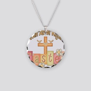 heastercrossrejoices copy Necklace Circle Char