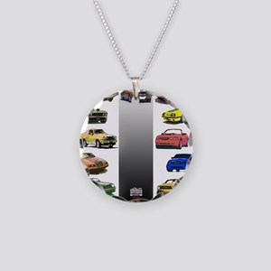 Mustang Gifts Necklace Circle Charm