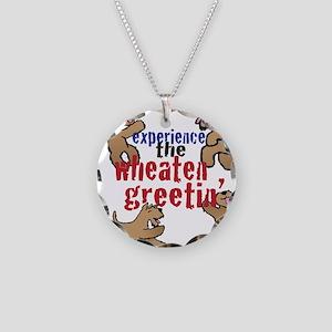 Wheaten Greetin' Necklace Circle Charm