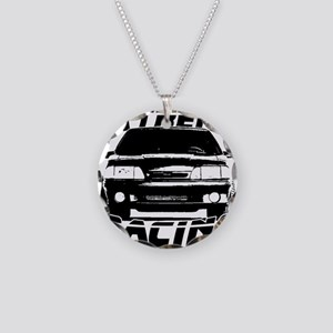 New Mustang Racing Necklace Circle Charm