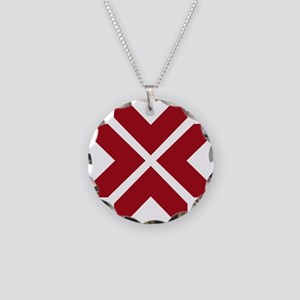 LNG roundel Necklace Circle Charm