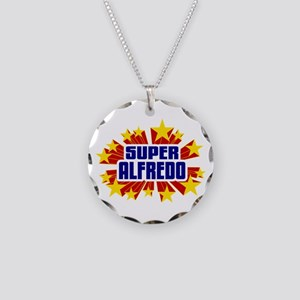 Alfredo the Super Hero Necklace