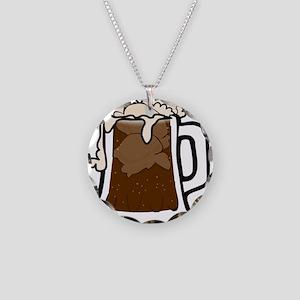 Root Beer Float Necklace