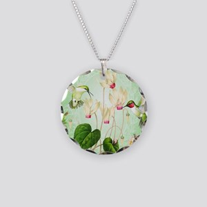 Modern Vintage French Hummingbirds Necklace