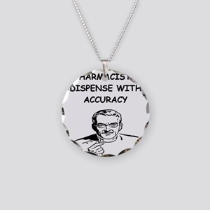 funny pharmacist Necklace Circle Charm