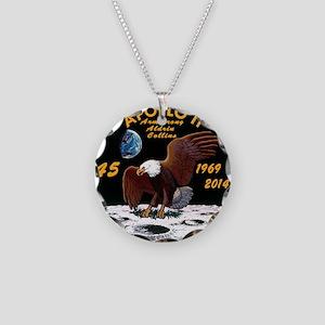 Apollo 11 45th Anniversary Necklace Circle Charm