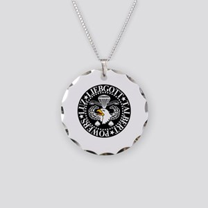 Band of Brothers Crest Necklace Circle Charm