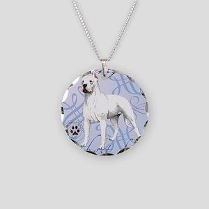 dogo-tile Necklace Circle Charm