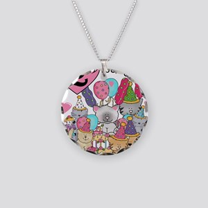 ZXKITTENS2ND Necklace Circle Charm