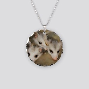 Possum BSnuttles Necklace Circle Charm