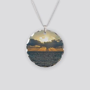 psalm143sq Necklace Circle Charm