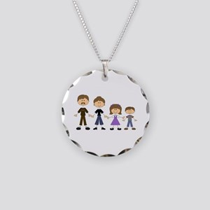 STICK FIGURE FAMILY Necklace