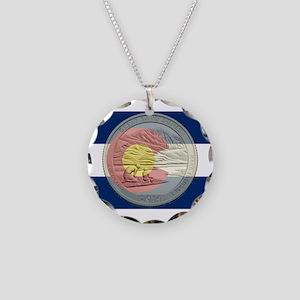 Colorado Quarter 2014 Necklace Circle Charm