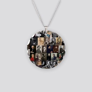 Composers Collage Necklace
