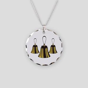 Three Handbells Necklace
