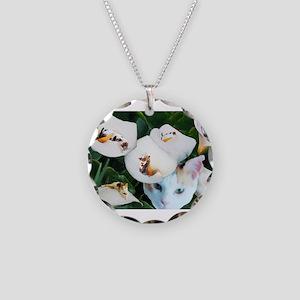 Cala in Callas Necklace Circle Charm