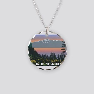 Mt. Tallac Lake Tahoe Necklace