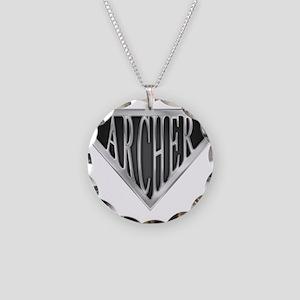 spr_archer_chrm Necklace Circle Charm