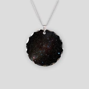 Carina constellation - Necklace Circle Charm