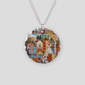 JERUSALEM Necklace Circle Charm