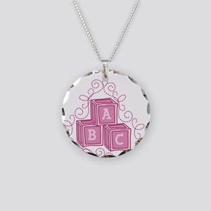 B Is For Baby Necklace Circle Charm