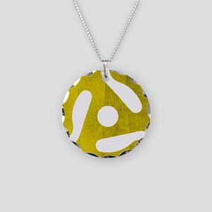 rpm Necklace Circle Charm