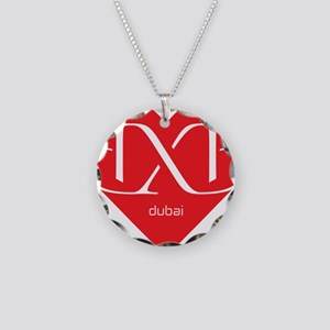 Heart Dubai Necklace Circle Charm