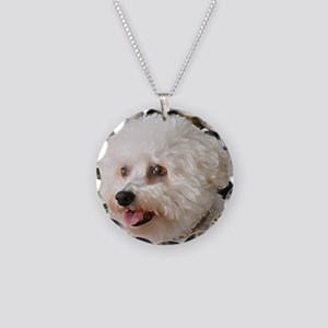 MARCO PAINTING Necklace Circle Charm