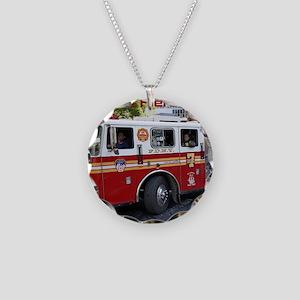 Fireman 06 Necklace Circle Charm