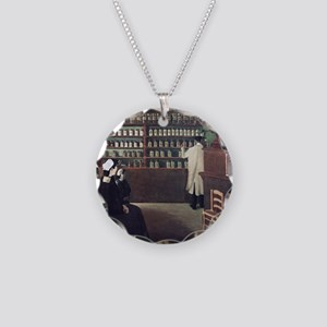 The Pharmacy, 1912 artwork Necklace Circle Charm