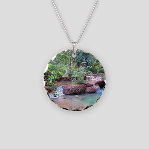 Erawan Falls - Erawan Nation Necklace Circle Charm