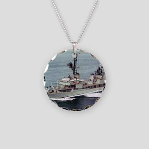 hamner framed panel print Necklace Circle Charm